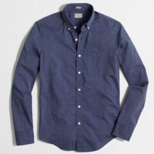 J.Crew Slim Stretch Secret Wash Shirt  Size S